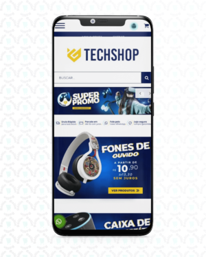 Tema Iluria - Tech Shop